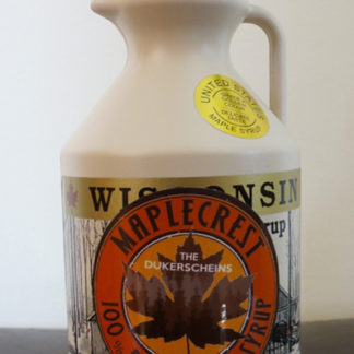 Pint Plastic Jar Grade A Golden Color Maple Syrup