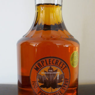 Quart Glass Jar Grade A Golden Color Maple Syrup